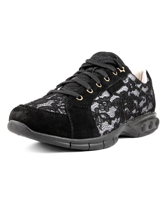 Therafit Women's Walking Shoes BLACK - Black Roma Walking Shoe - Women