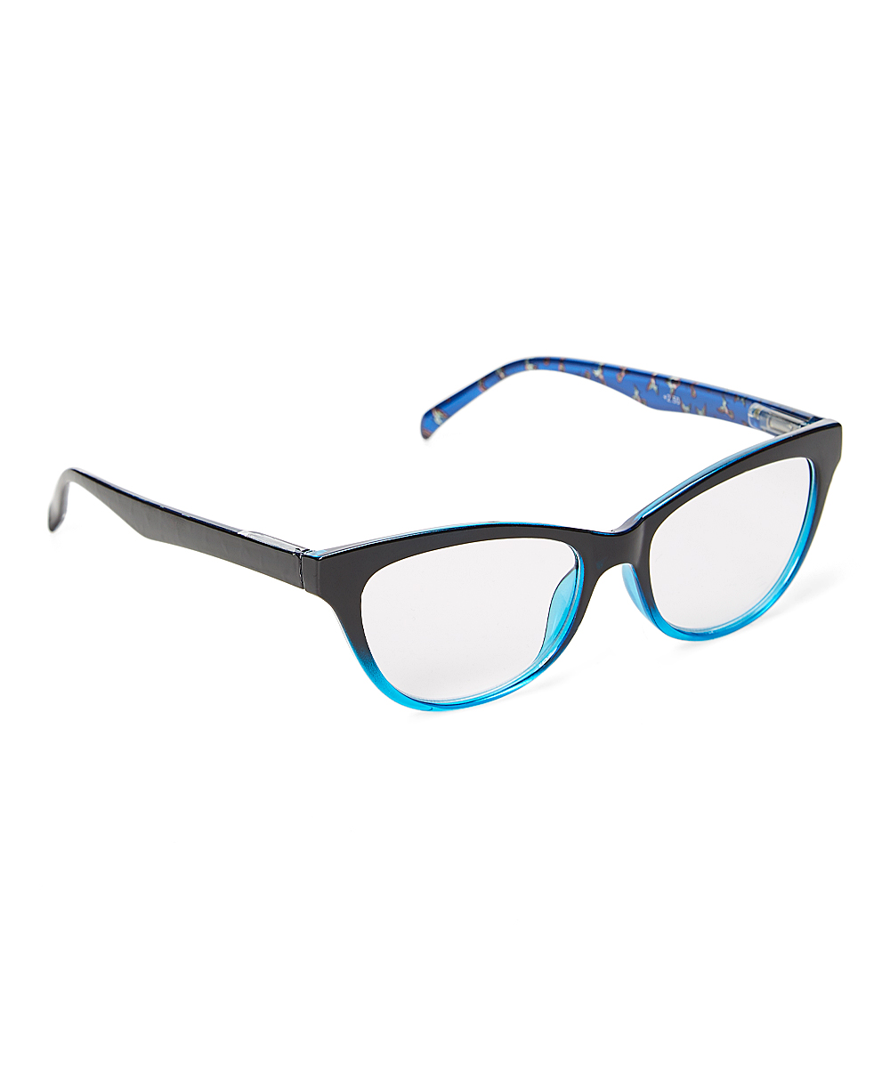 Blue Ombre Square Readers