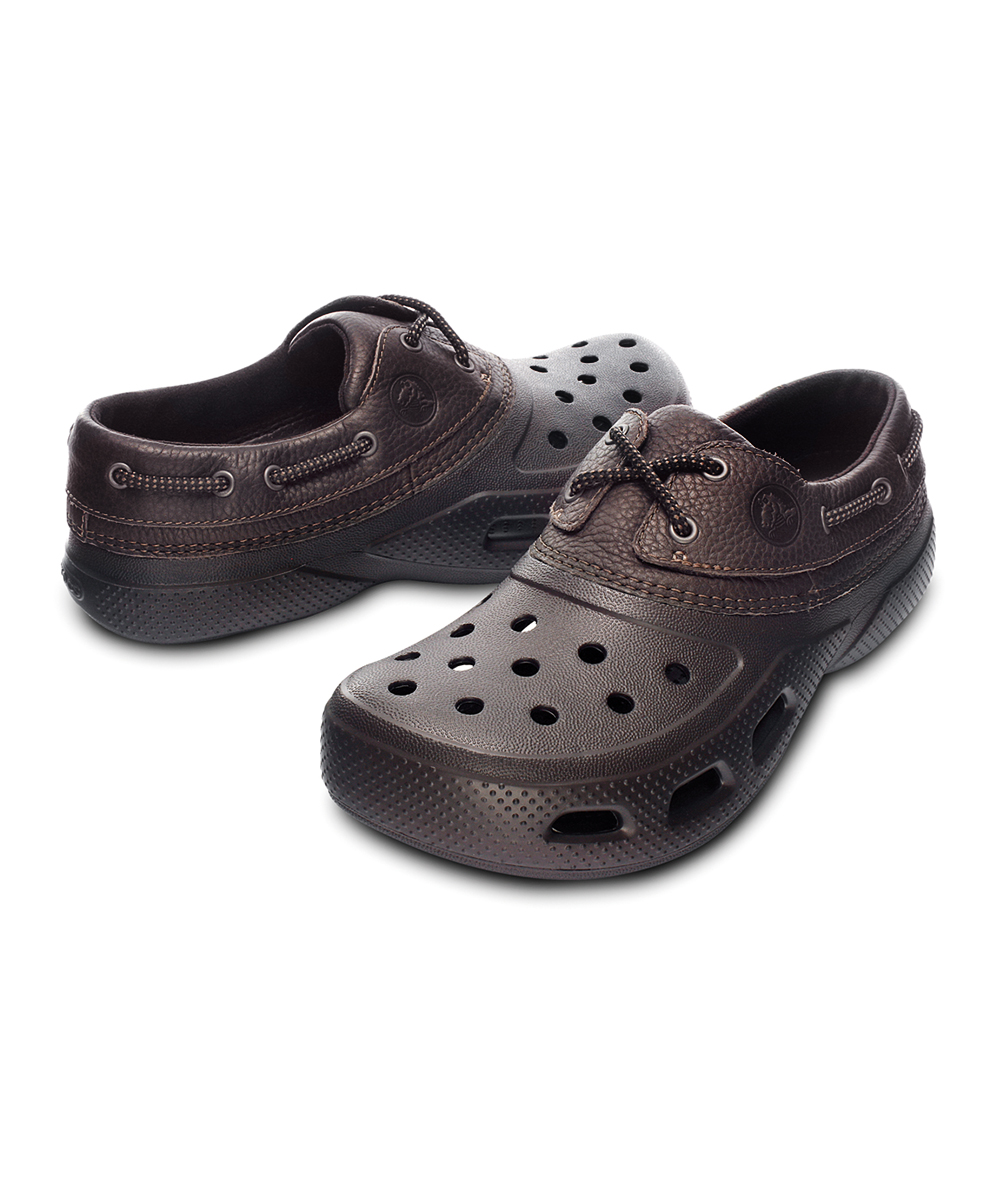 4a5e0cf46 Crocs Espresso Islander Sport Shoe - Men