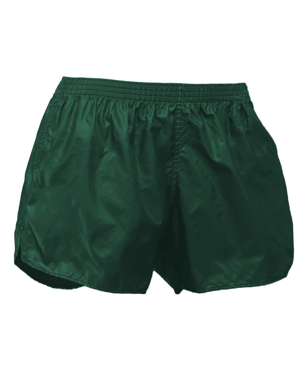 Dark Green Wind Shorts - Men Dark Green Wind Shorts - Men. He can run like the wind in these super lightweight shorts.100% nylonMachine washImported