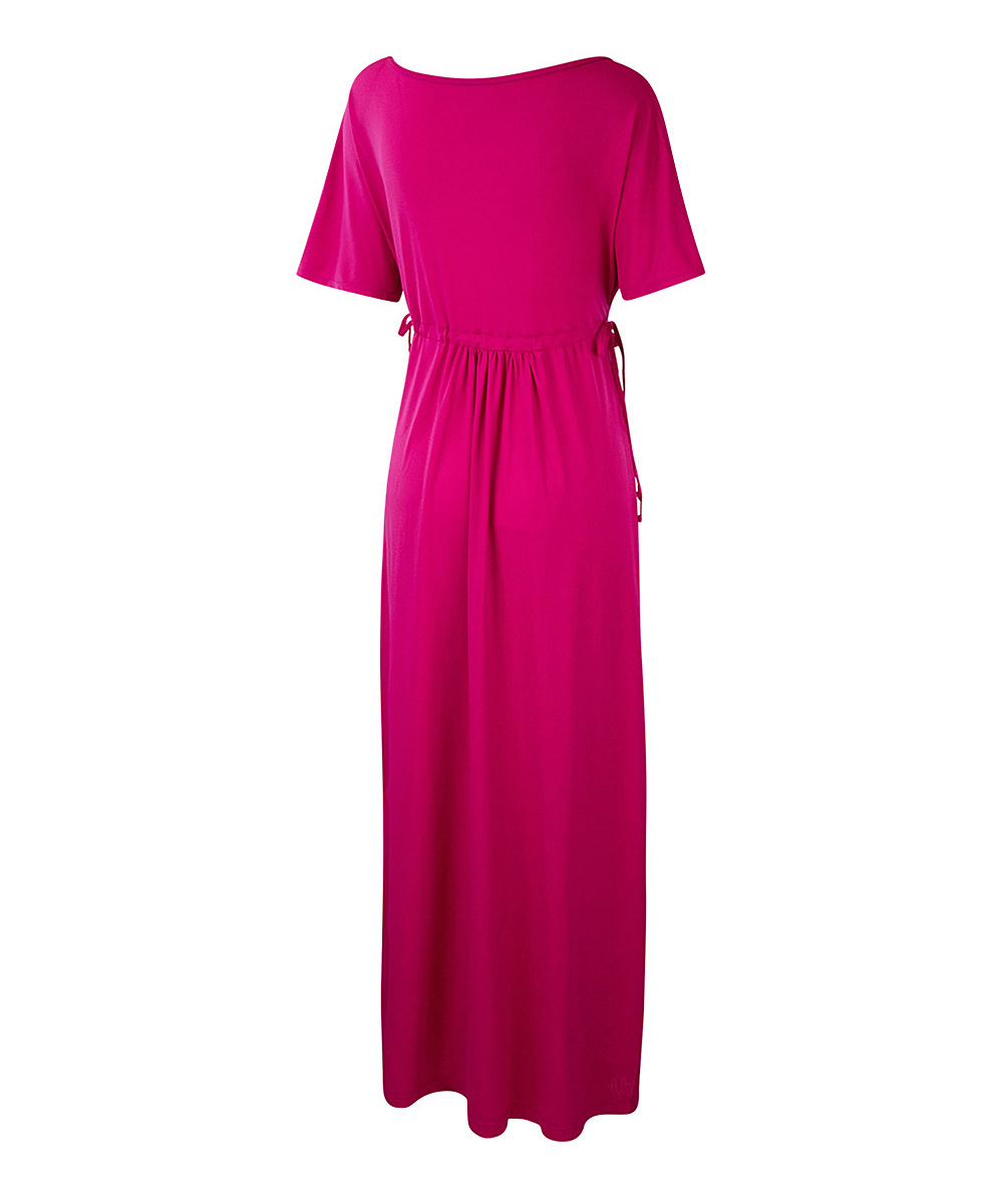 11d4964ba0 love this product Hot Pink UPF 50+ Maxi Cover-Up - Women & Plus