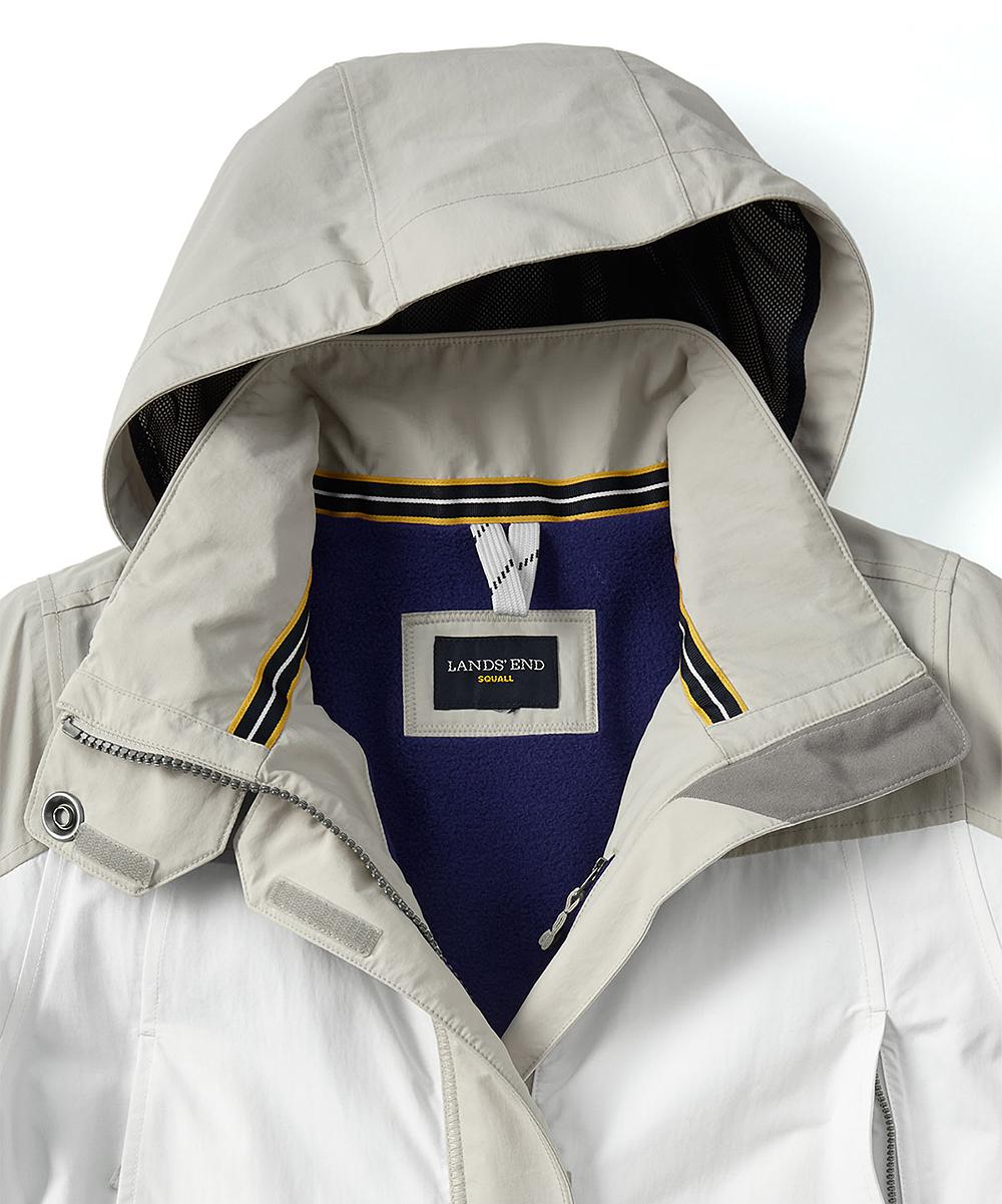 e0d4c120b73 ... Womens SOFT PUTTY SNOWDRIFT AJX Soft Putty Squall Stadium Coat - Plus -  Alternate Image 3 ...