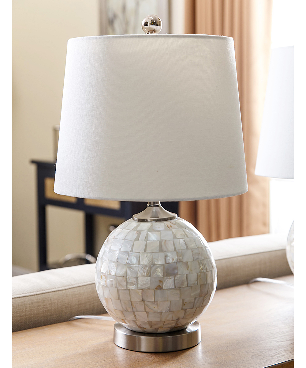 Cynthia Mother Of Pearl Table Lamp Set Of Two Zulily