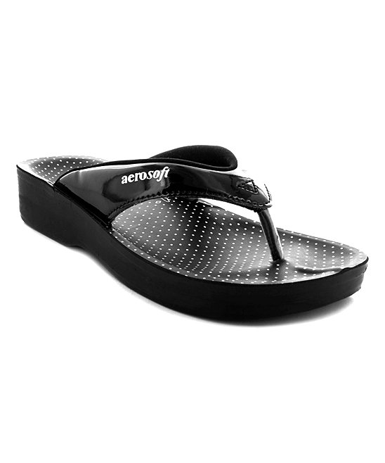 80ff655a69d Aerosoft Black Snowdonia Sandal - Women
