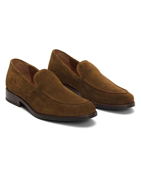 67b404e5be0 love this product Chocolate Jefferson Venetian Suede Loafer