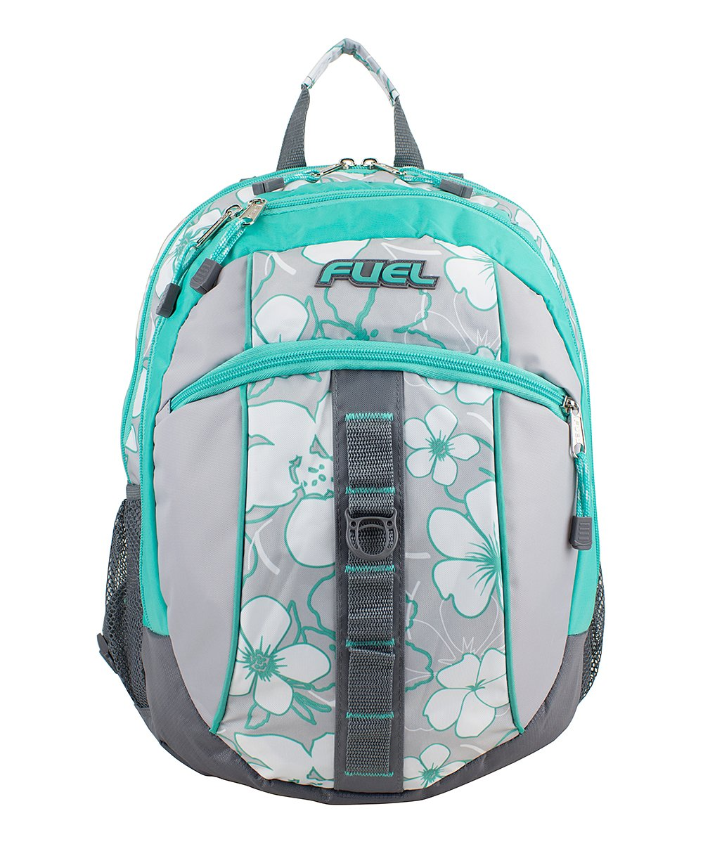 bdeadfc549 FUEL Gray   Teal Floral Fuel Active Backpack