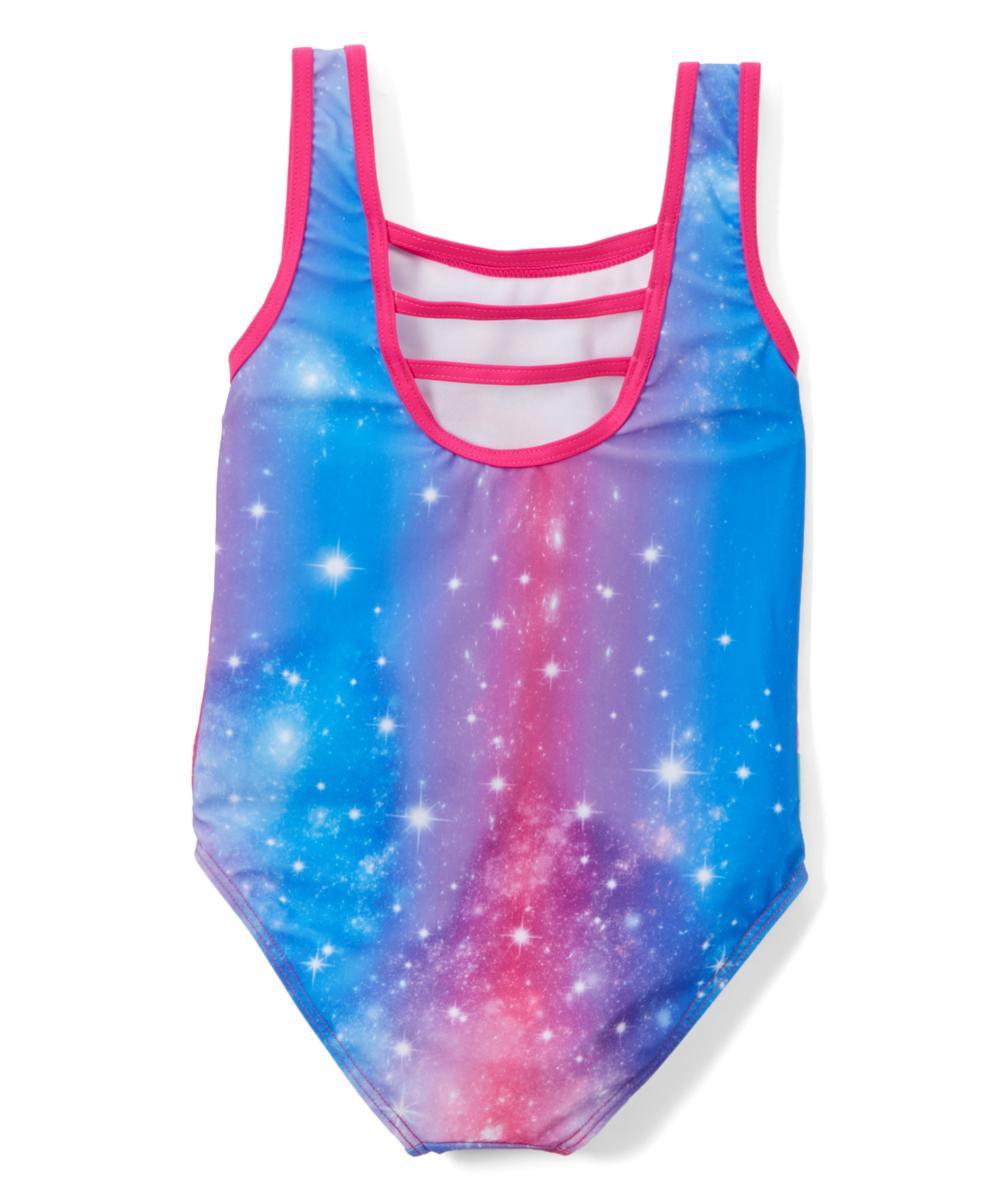 a5cf26b7c0eae Dreamwave Apparel Trolls Blue & Pink Free to Sparkle One-Piece | Zulily