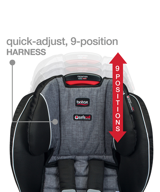 Britax Cowmooflage Frontier ClickTightR Harness 2 Booster Car Seat