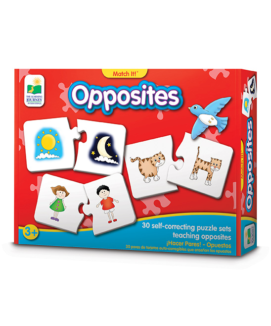 Match It! Opposites Puzzle Game