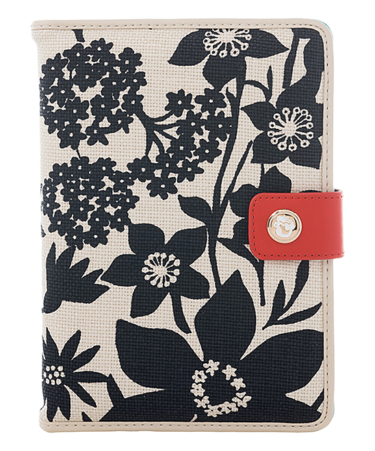 Spartina 449 Black Privateer iPad Mini 4 Linen   Leather Cover ... b52d4831c4