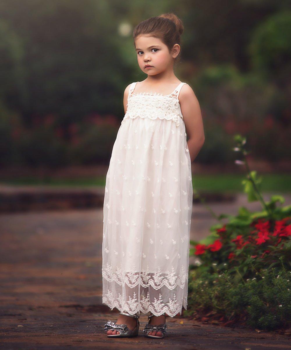 7d8a424da Trish Scully Child White Alexia Dress - Toddler