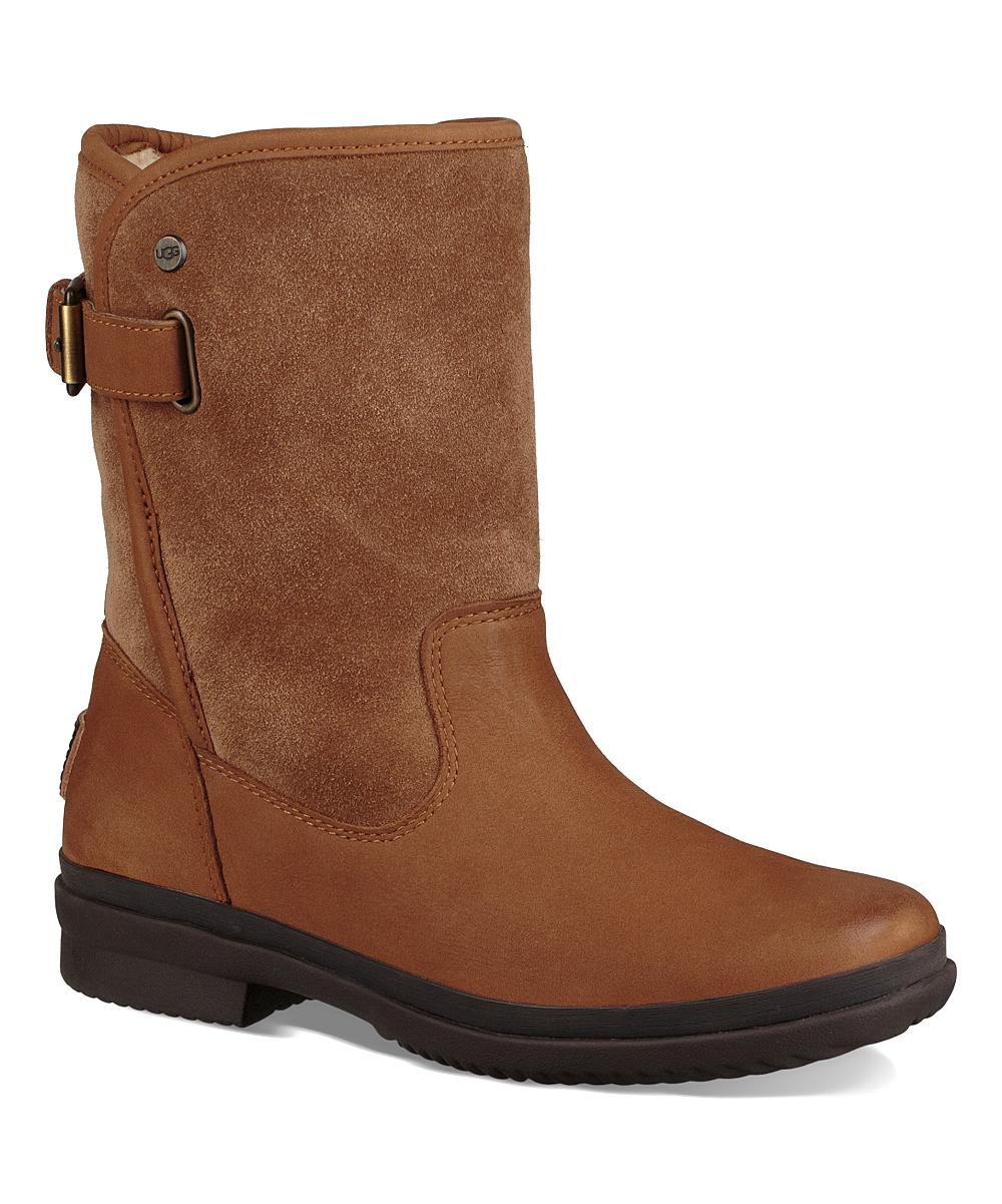 61dd6dca296 UGG® Chestnut Oren Waterproof Leather Boot - Women
