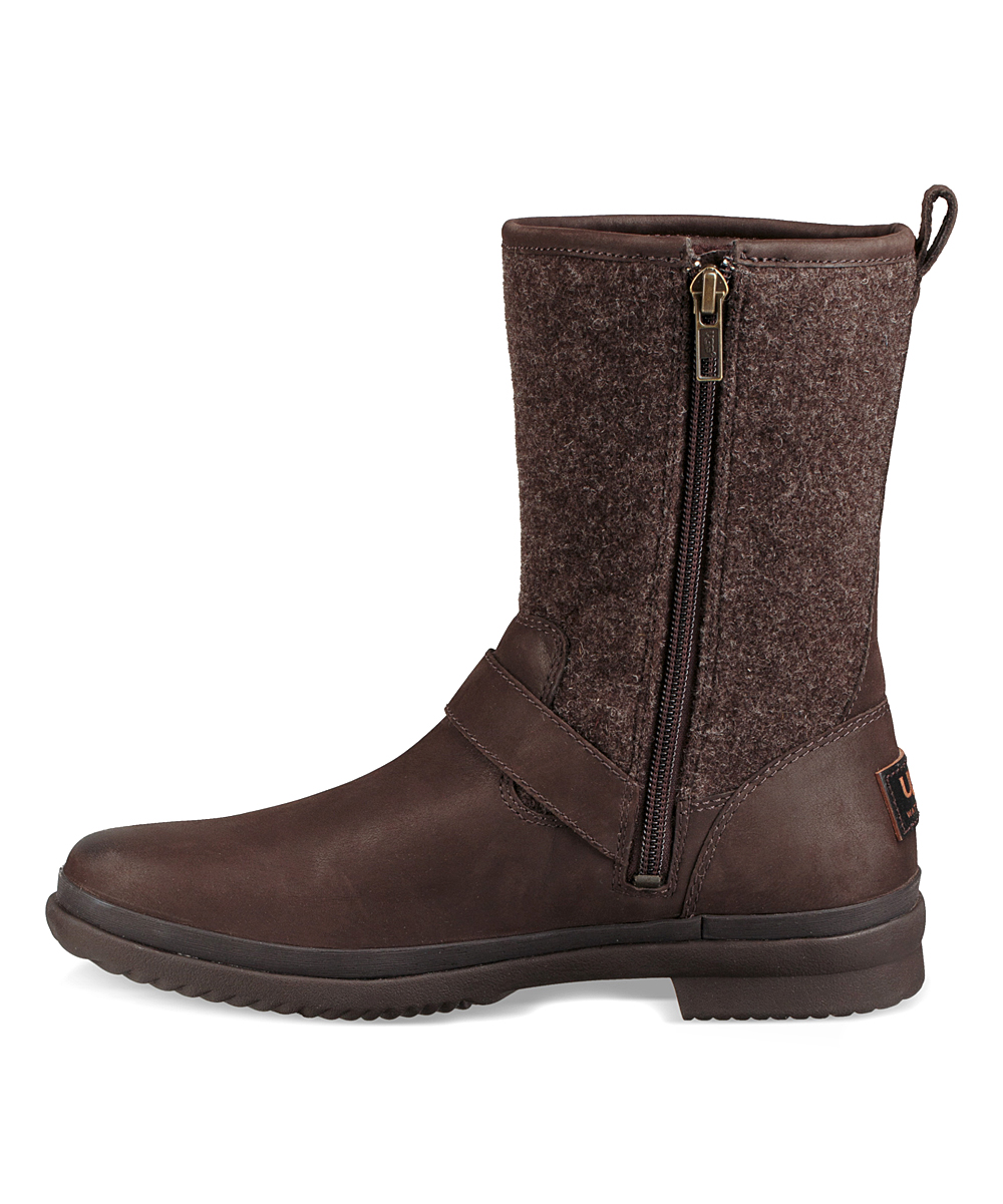 ada00606471 UGG® Stout Robbie Water-Resistant Leather Boot - Women