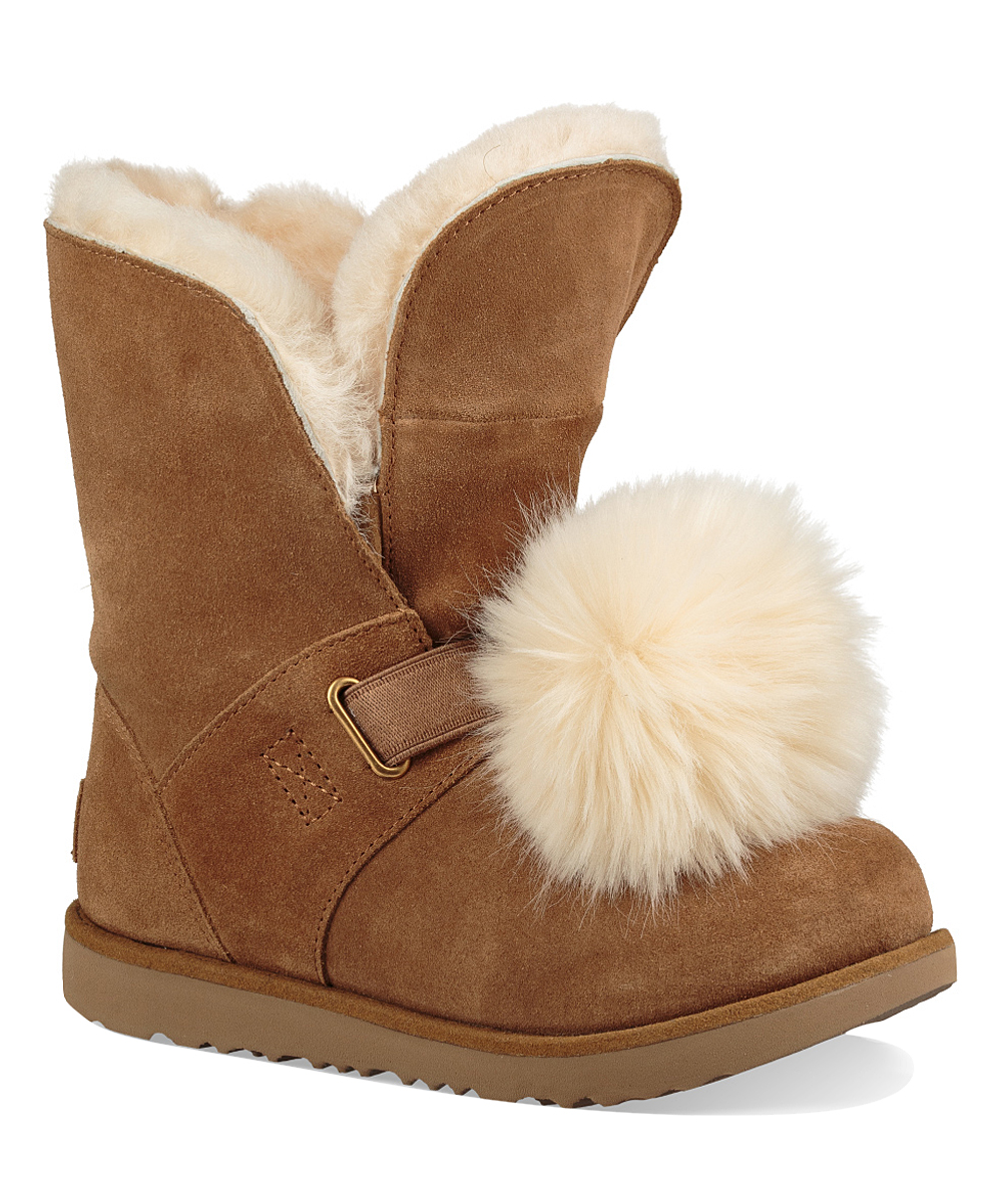 d7085c825a4 UGG® Chestnut Isley Waterproof Leather Boot - Kids
