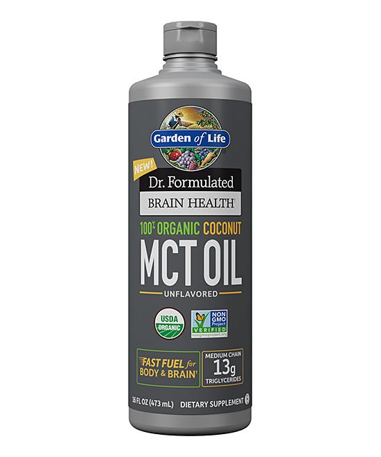 16-Oz. Dr. Formulated Brain Health Organic Coconut MCT Oil