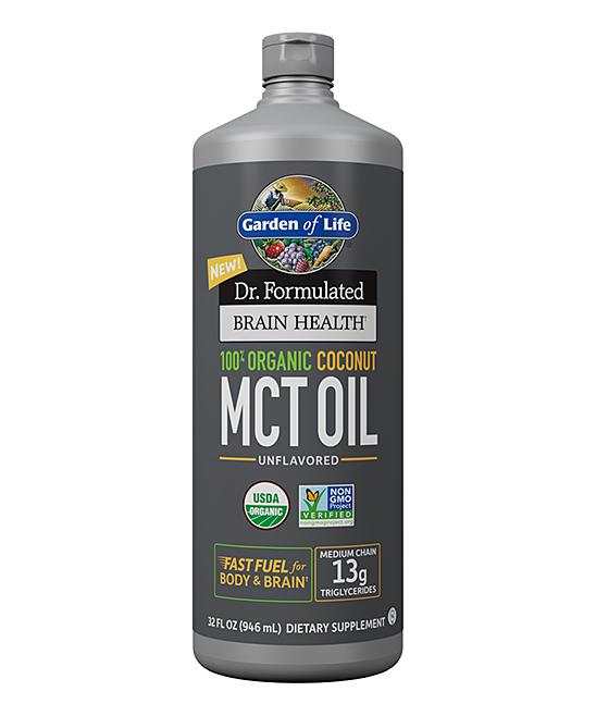 32-Oz. Dr. Formulated Brain Health Organic Coconut MCT Oil