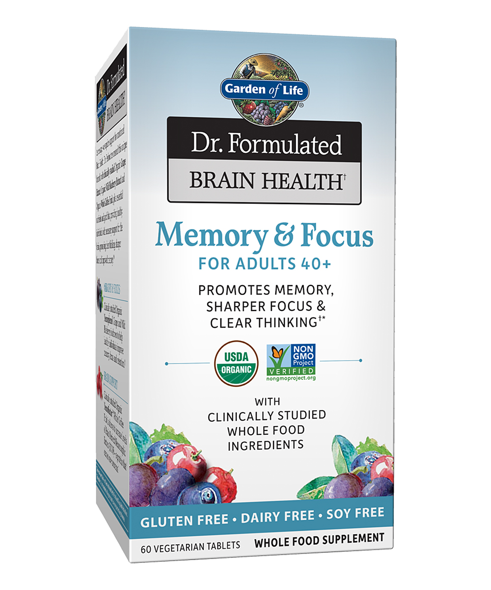 60-Ct. Brain Health Memory & Focus for Adults 40+ Tablets