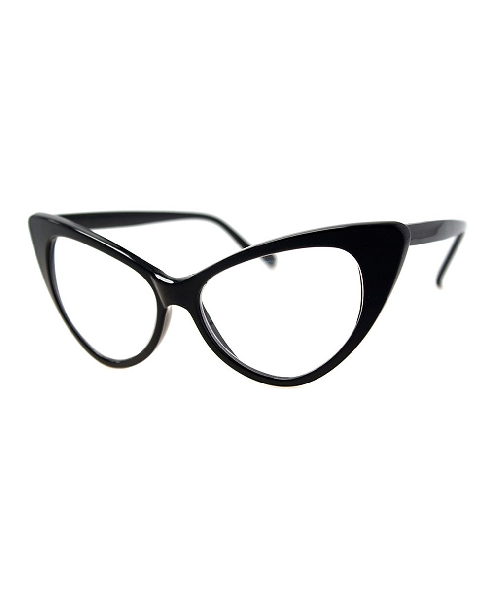 A.J. Morgan Women's Reading Glasses BLACK - Black Whambamboom Readers