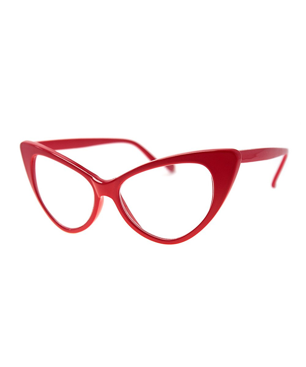 A.J. Morgan Women's Reading Glasses RED - Red Whambamboom Readers