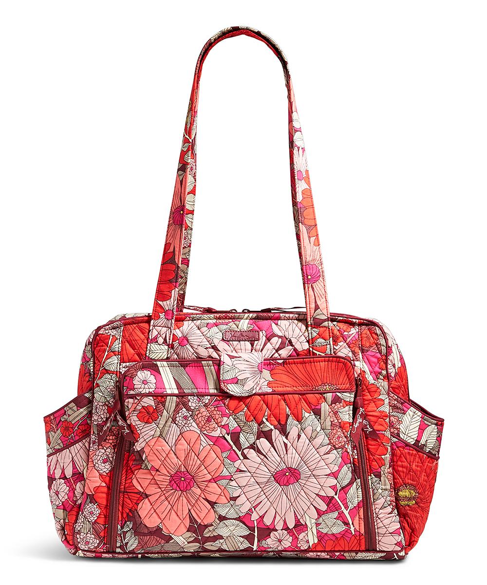Vera Bradley Bohemian Blooms Stroll Around Baby Bag  27eef7d61159e