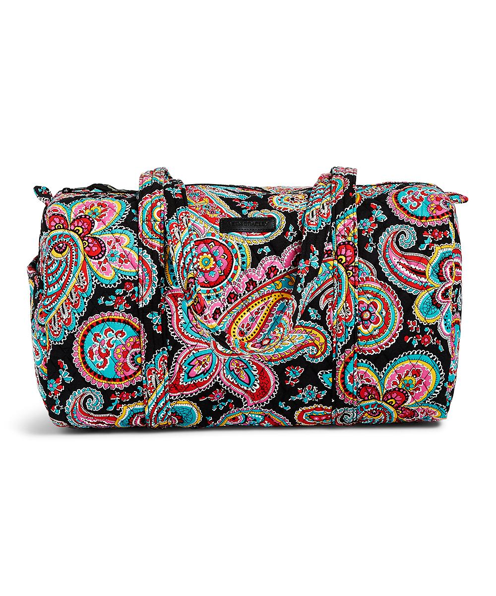 Vera Bradley Parisian Paisley Small Duffel Bag  36ac0c381a3f4