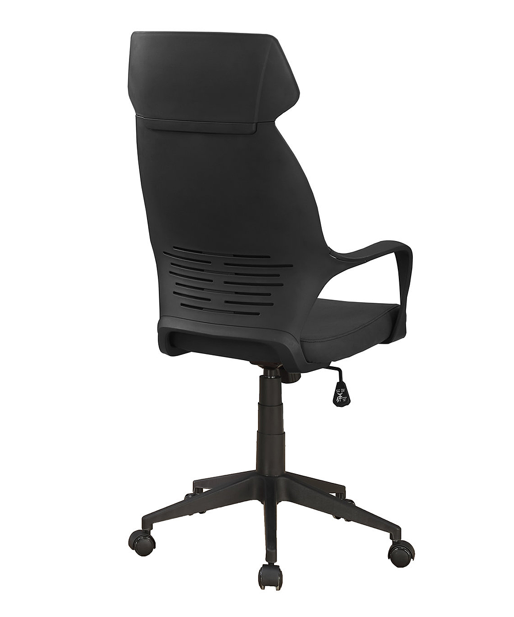 Black High-Back Executive Office Chair