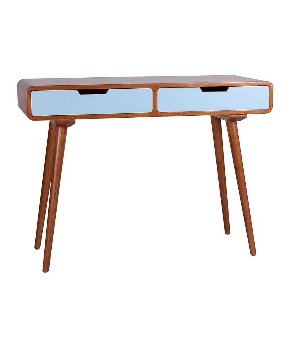 Porthos Home Aqua Ruby Two Drawer Console Table