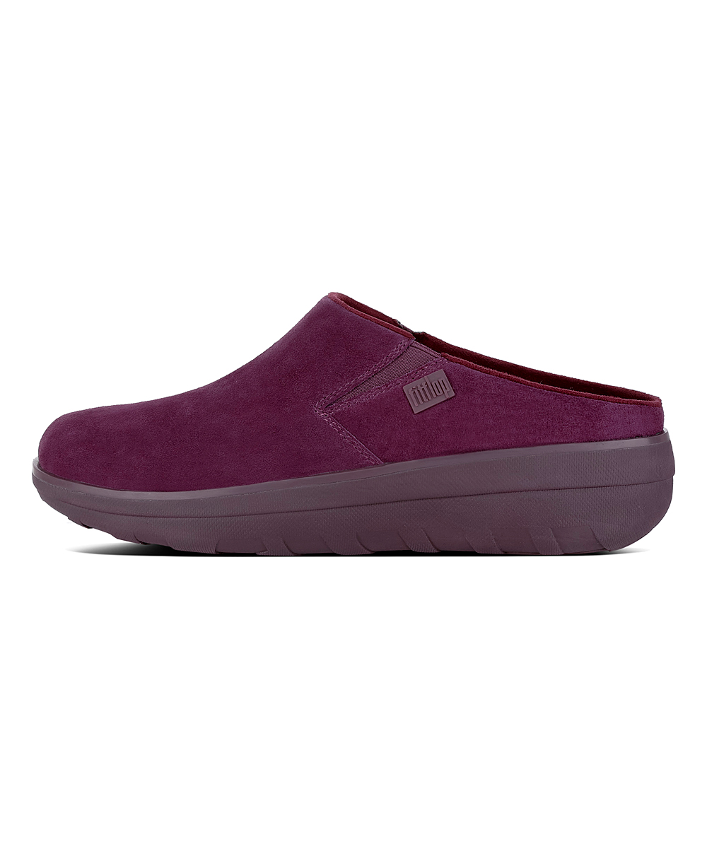 2fec9b02b78f92 love this product Deep Plum Loaff Suede Clog - Women