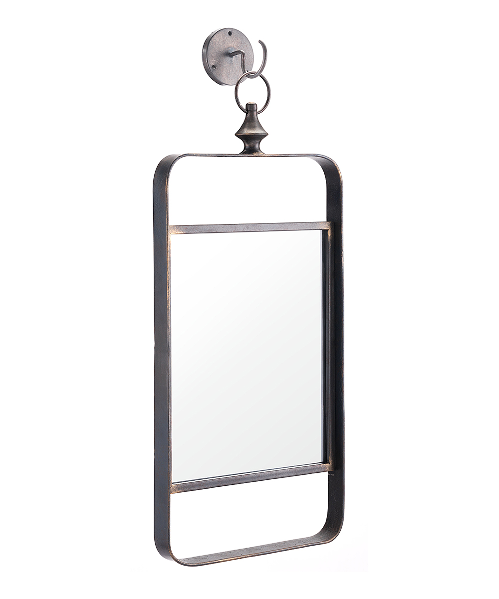 all gone. Industrial Verticle-Rectangle Hook Wall Mirror f3132e5b18