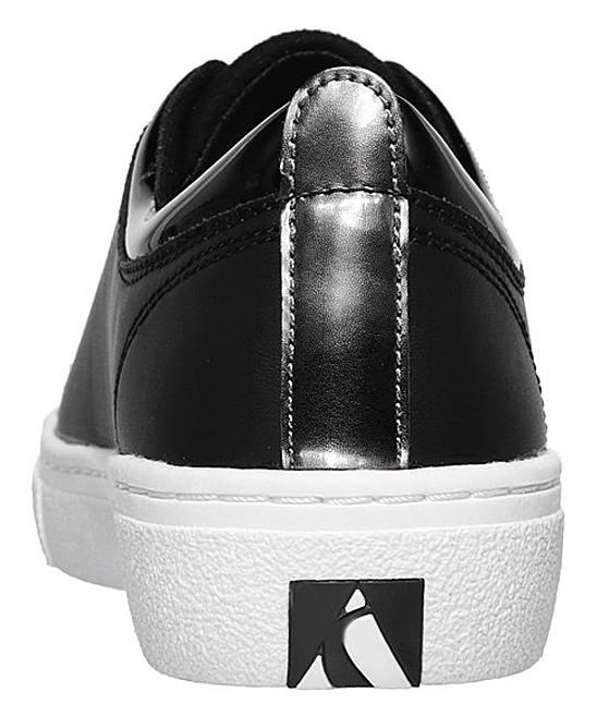 91271fbe1df5 ... Womens BLK Black Goldie Street Sleak Leather Sneaker - Alternate Image  4 ...