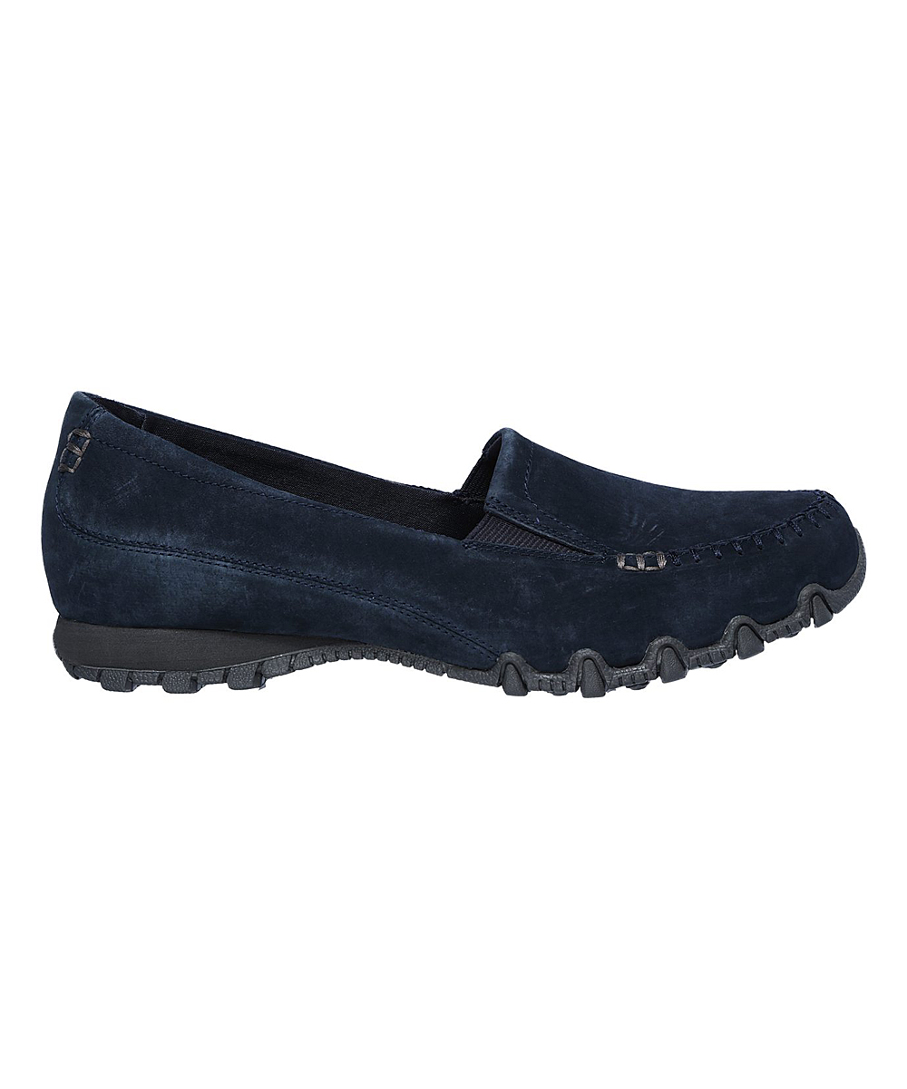 c30d2757201 ... Womens NVY Navy Relaxed Fit Bikers Wayfarer Suede Loafer - Alternate  Image 2 ...