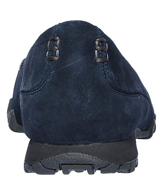 a36828e96f8 ... Womens NVY Navy Relaxed Fit Bikers Wayfarer Suede Loafer - Alternate  Image 5