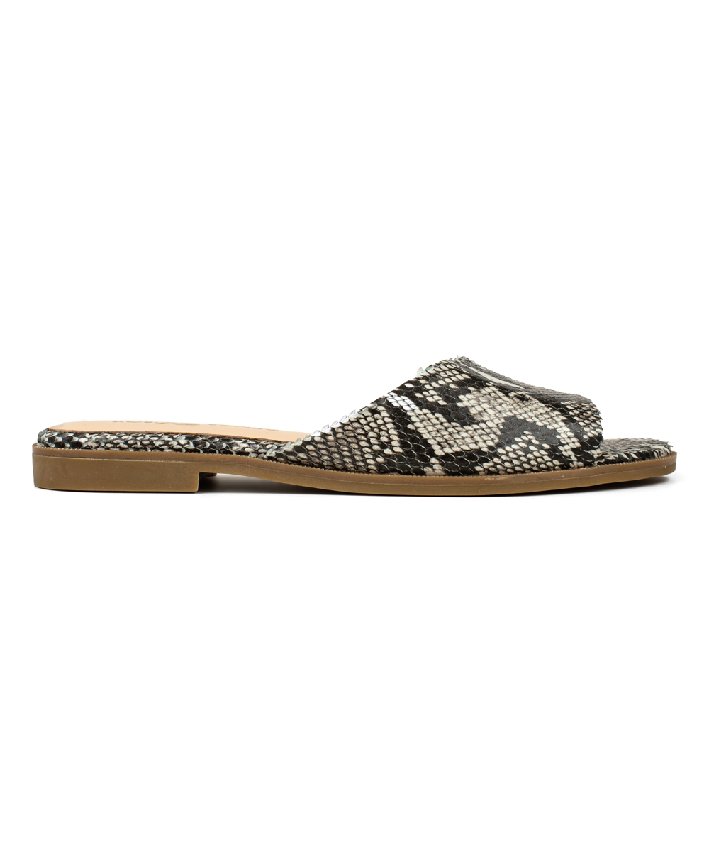 e9a6e51f5194 Yosi Samra Natural Python Print Leather Constantine Sandal - Women ...