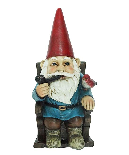 Rocking Chair Gnome Figurine