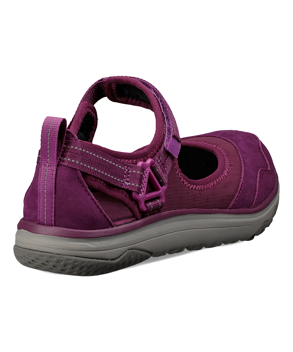 af058ab7a133 ... Womens DARK PURPLE Dark Purple Terra-Float Travel Leather Walking Shoe  - Women - Alternate ...