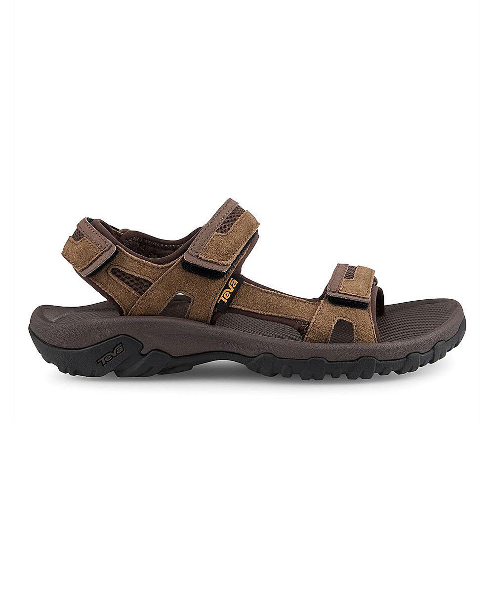 3f4b6a9574ef all gone. Brown Hudson Leather Sandal - Men