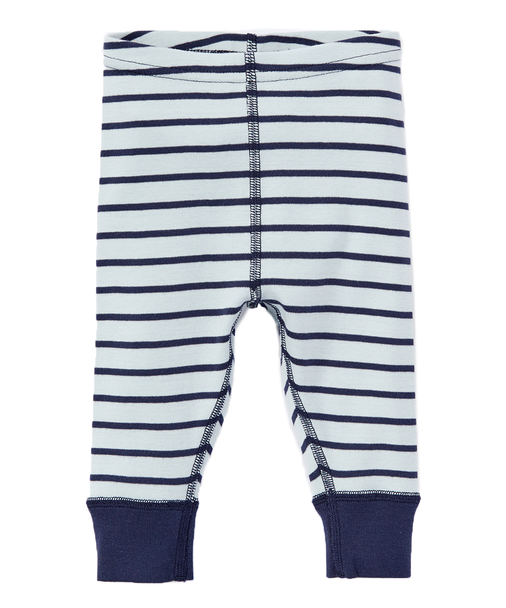 03e7fef4409bb Hanna Andersson Navy Stripe Loose Crop Leggings - Infant | Zulily
