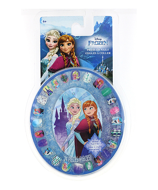 Townley Girl  Nail Stickers and Appliques  - Frozen 24-Ct. Press-On Nails Wheel