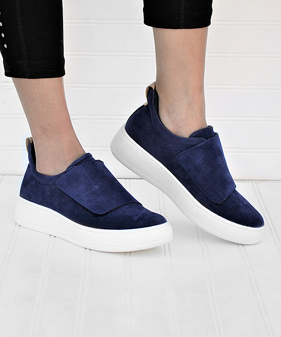 Mata Shoes Women's Sneakers NAVY - Navy Teresa Sneaker - Women