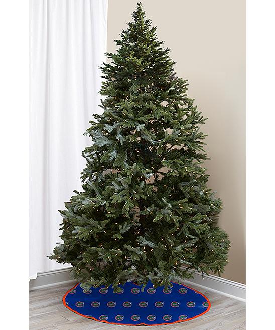 ... UNIVERSITY OF FLORIDA Florida Gators Collegiate Christmas Tree Skirt -  Alternate Image 2 - Pegasus Sports Florida Gators Collegiate Christmas Tree Skirt Zulily