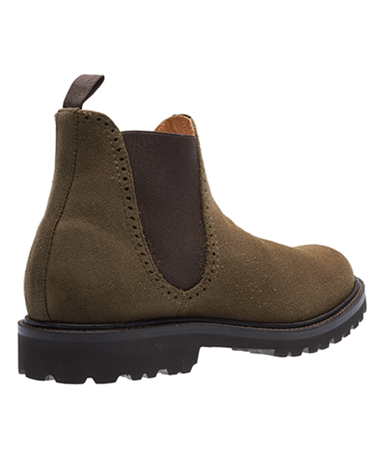 fecc725b3a3 Wolverine Olive Cromwell Suede Chelsea Boot - Men
