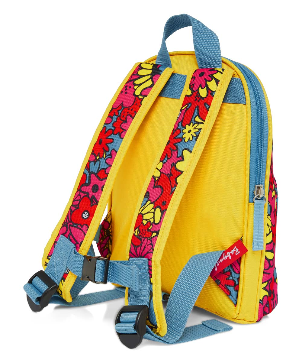Yellow Floral Mini Backpack - Restaurant Grotto Ticino