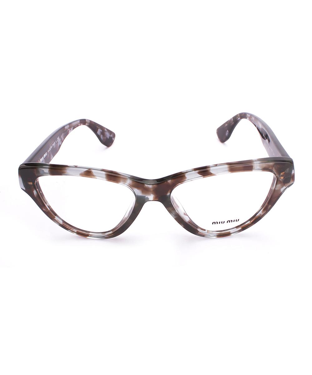 e2ba0eb5149 ... Womens HAVANA White Havana Tortoise Rx Cat-Eye Eyeglasses - Alternate  Image 2