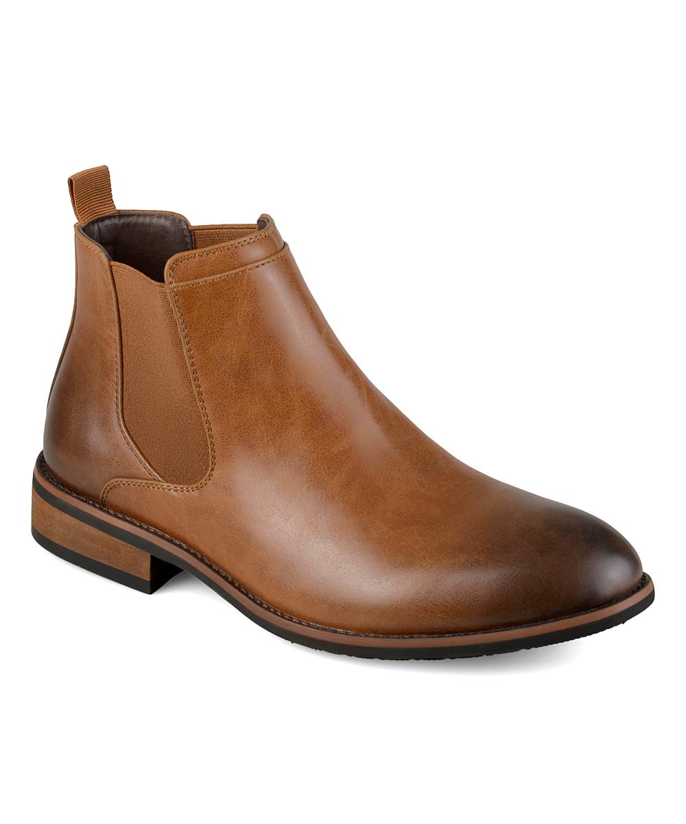 78aec1f0e14 Vance Co. Chestnut Landon Chelsea Boot - Men