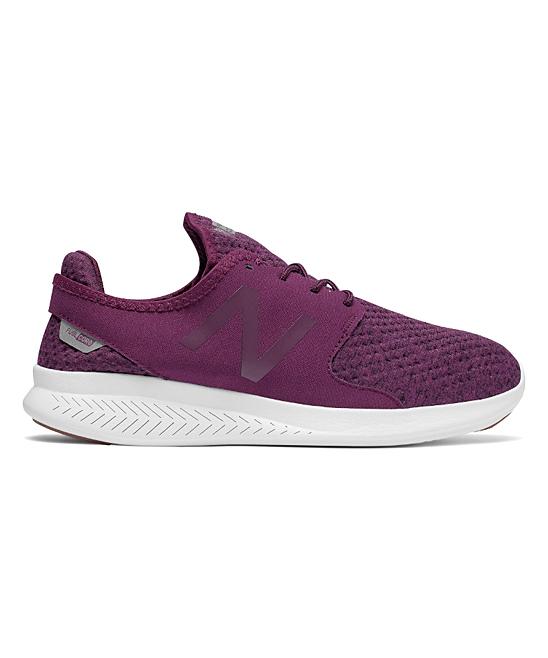 f1c57f2b2cef3 New Balance Dark Mulberry FuelCore Coast v3 Running Shoe - Women