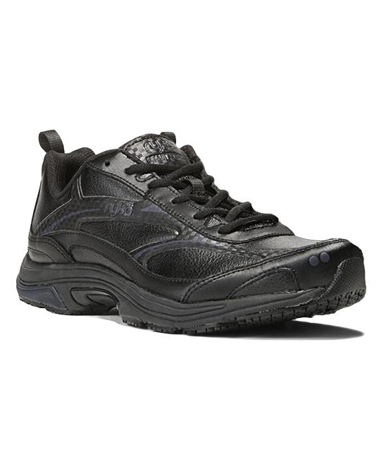 Ryka  Women's Walking Shoes BLACK/SILV - Black & Silver Intent XT 2SR Training Shoe - Women