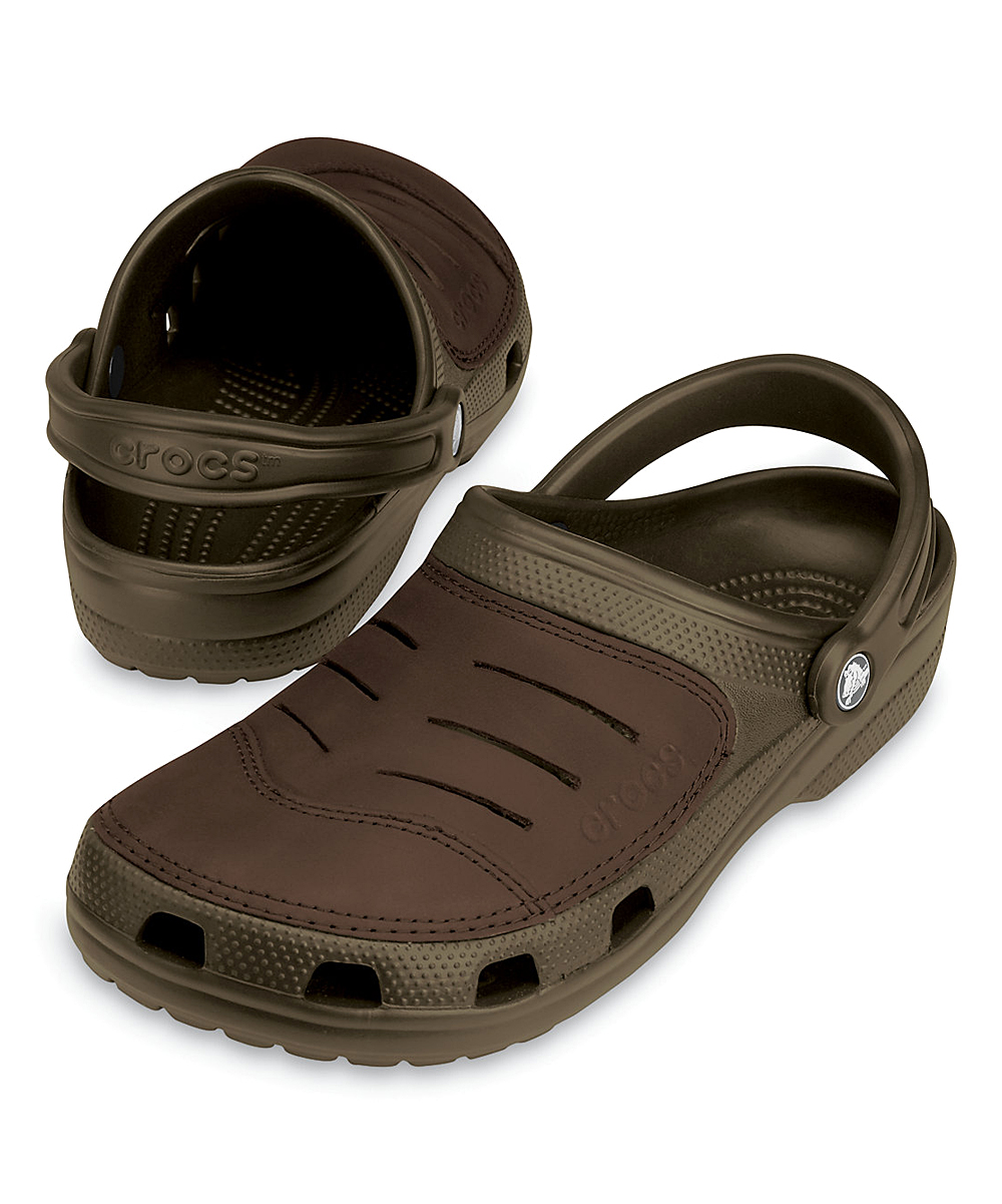 7531127741271 Crocs Chocolate Bogota Clog - Men