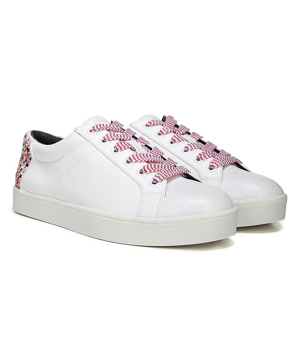 fb3c3725e6a06c ... Womens BRIGHT WHITE MULTI Bright White   Rainbow Collins Sneaker -  Alternate Image 3 ...