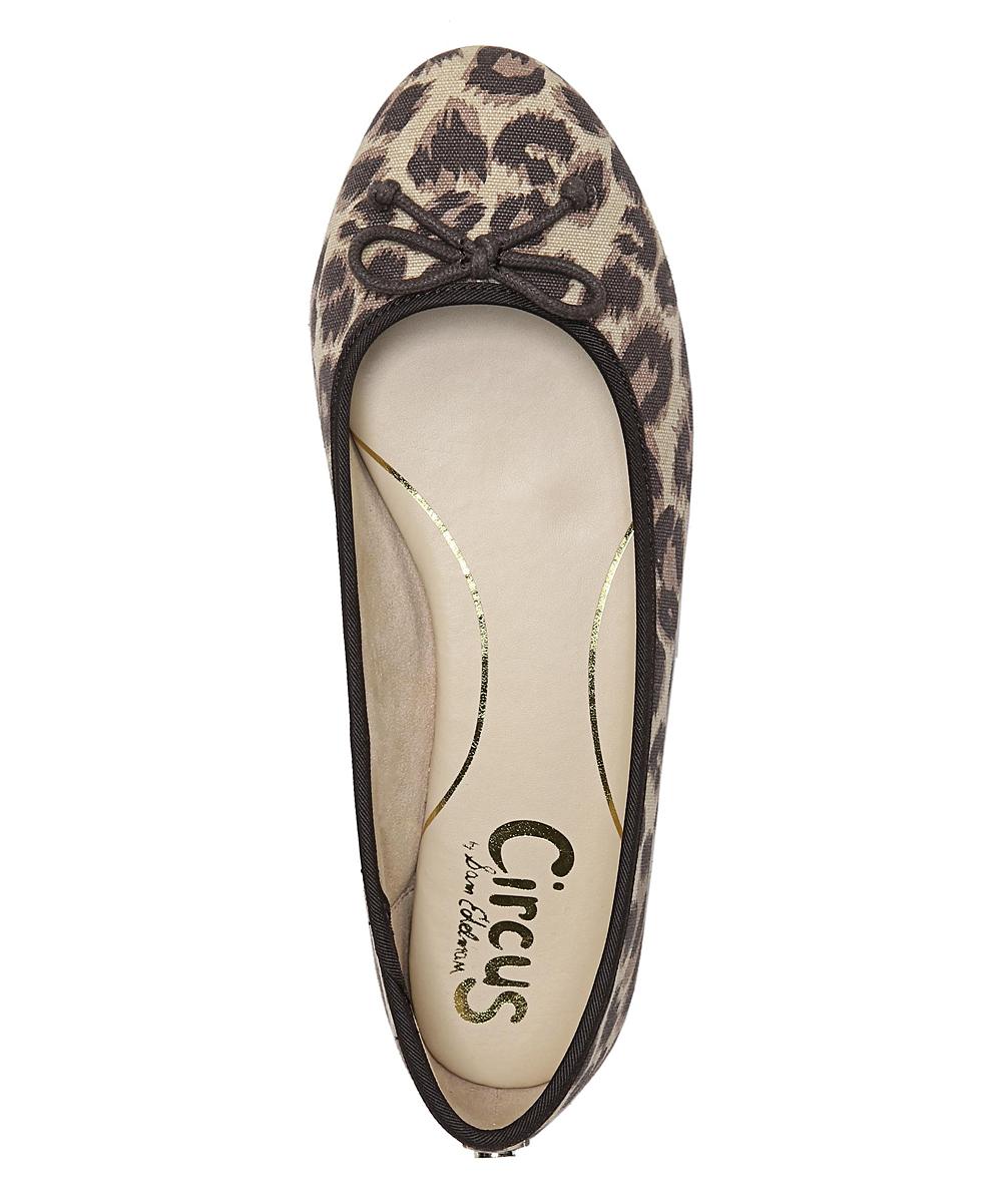 f2aaf3546 ... Womens BROWN LEOPARD Brown Leopard Charlotte Flat - Alternate Image 3  ...