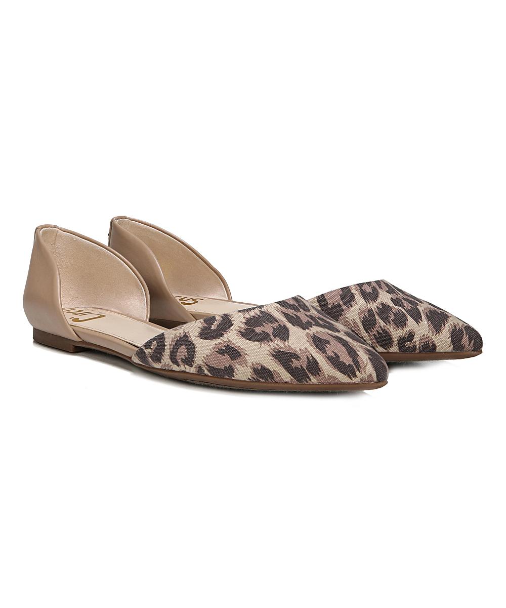 f521001fa Circus by Sam Edelman Brown Leopard   Bare Nude Ramona Flat - Women ...